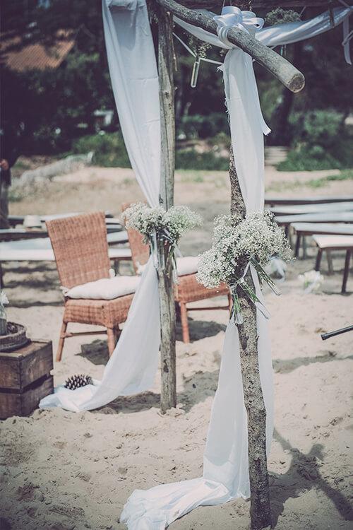 Envie d'une belle cérémonie laïque sur une magnifique plage de sable fin ?