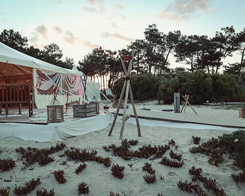 mariage à la pointe du Cap Ferret