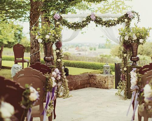 Amazing russian wedding in Aquitaine