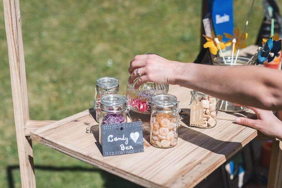 Le Candy Bar, des bonbons par milliers pour votre mariage by Weday's
