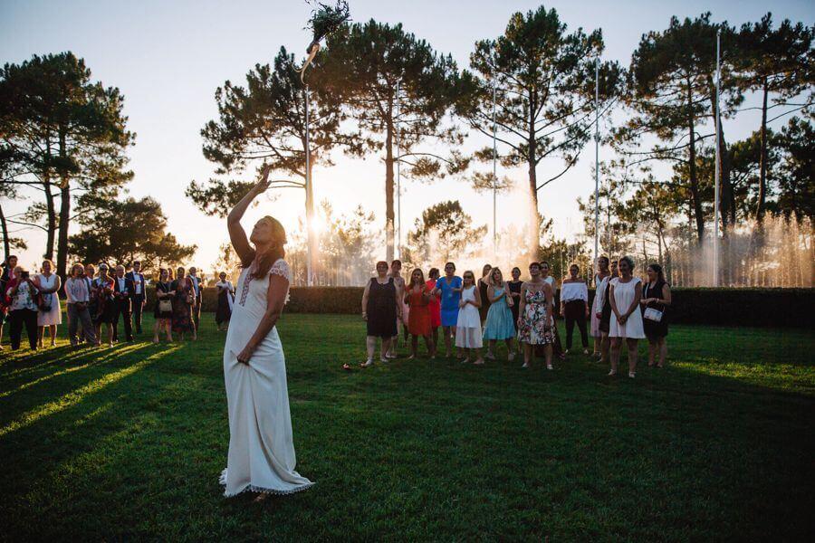 Un bouquet de mariage à jeter, c'est tout un symbole by Weday's
