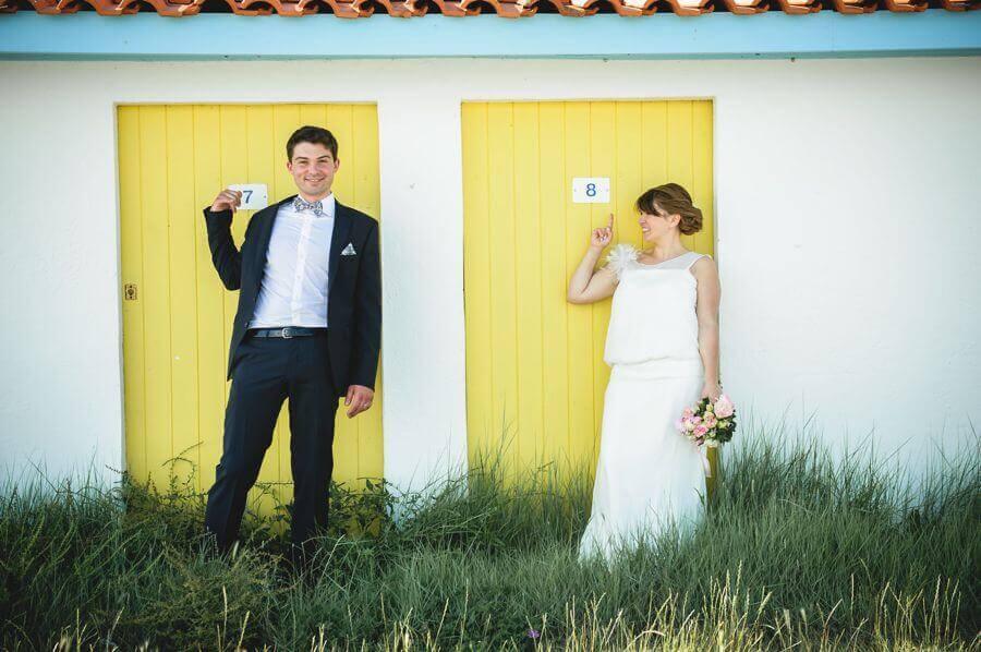 wedding dans une cabane ostréicole au Cap Ferret