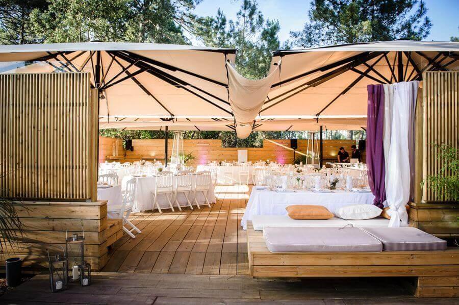 mariage dans une cabane ostréicole au Cap Ferret
