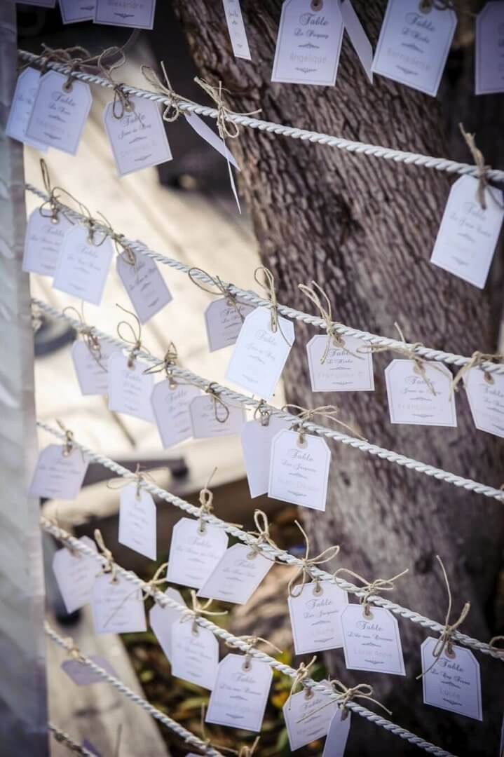 mariage dans une cabane à huitres au Cap Ferret