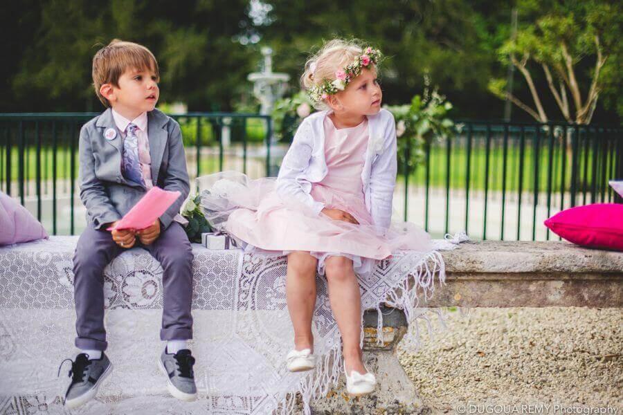 enfants d'honneur secular ceremony