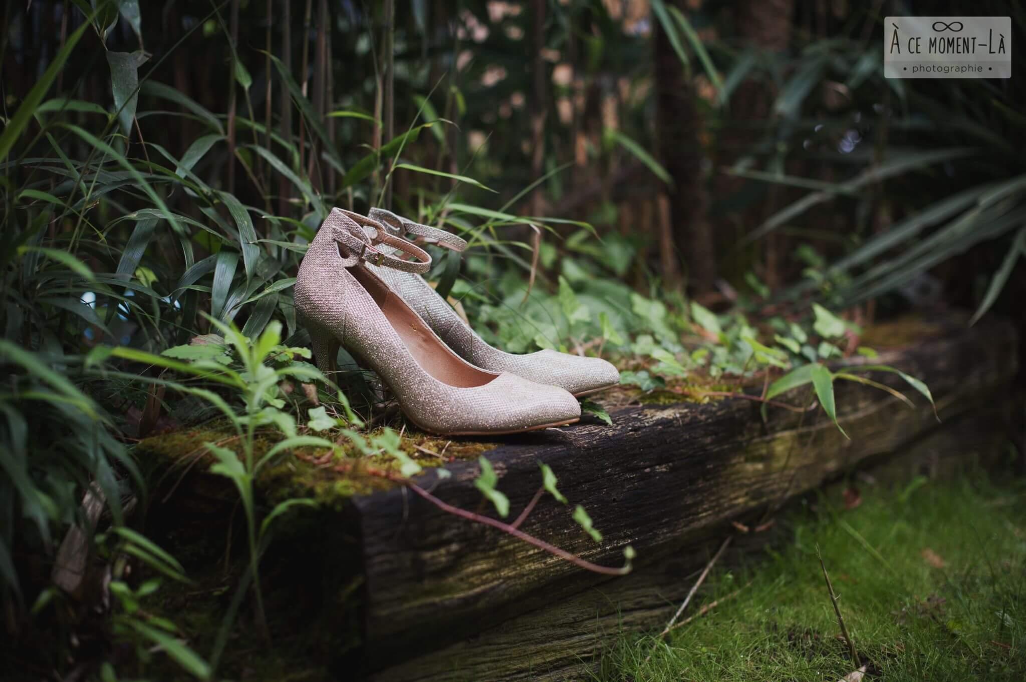 se marier les pieds nus