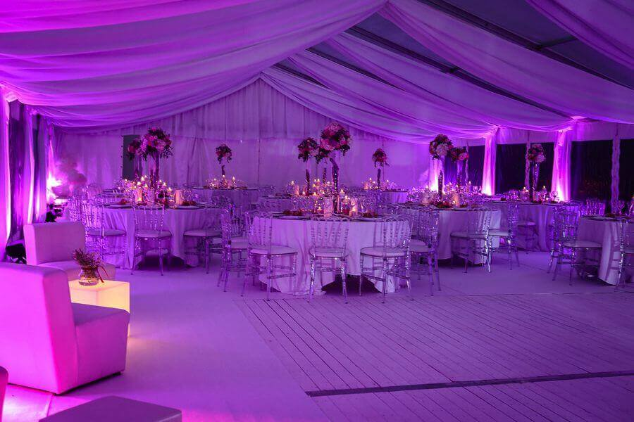 illuminez votre lieu de réception pour un mariage pas comme les autresby Weday's