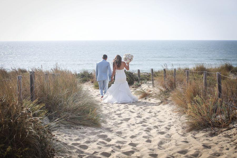 Se marier au Sail Fish au Cap Ferret by Weday's