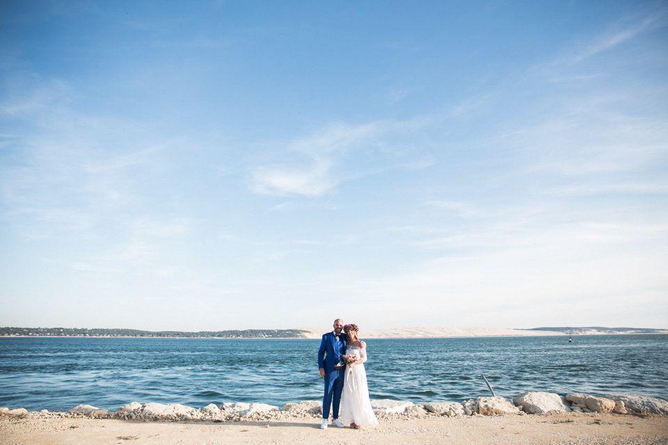 """Mariage à la pointe du Cap Ferret à la """"Cabane Bartherotte"""" - Weday's"""