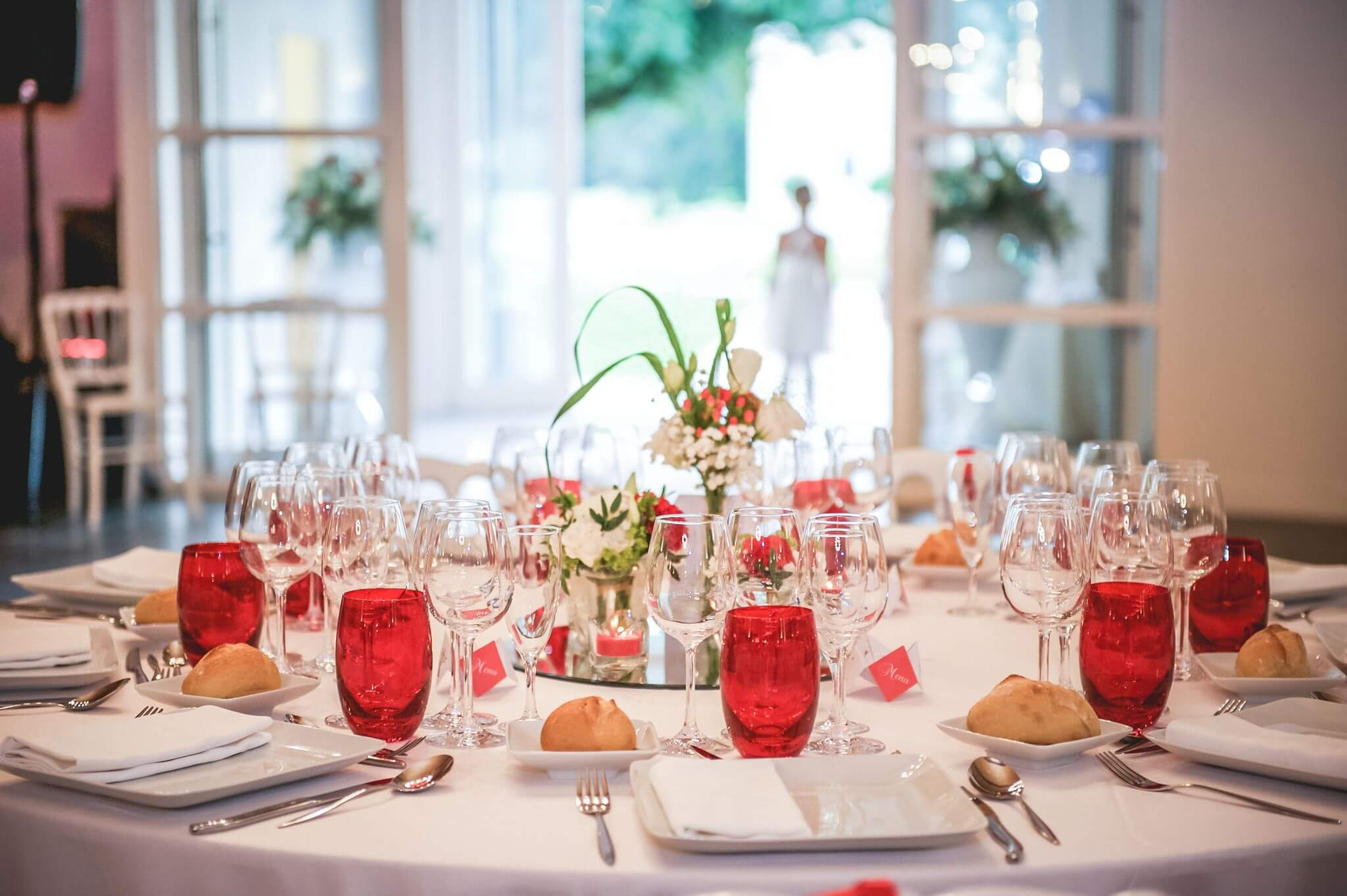 once upon a time, décoration de table