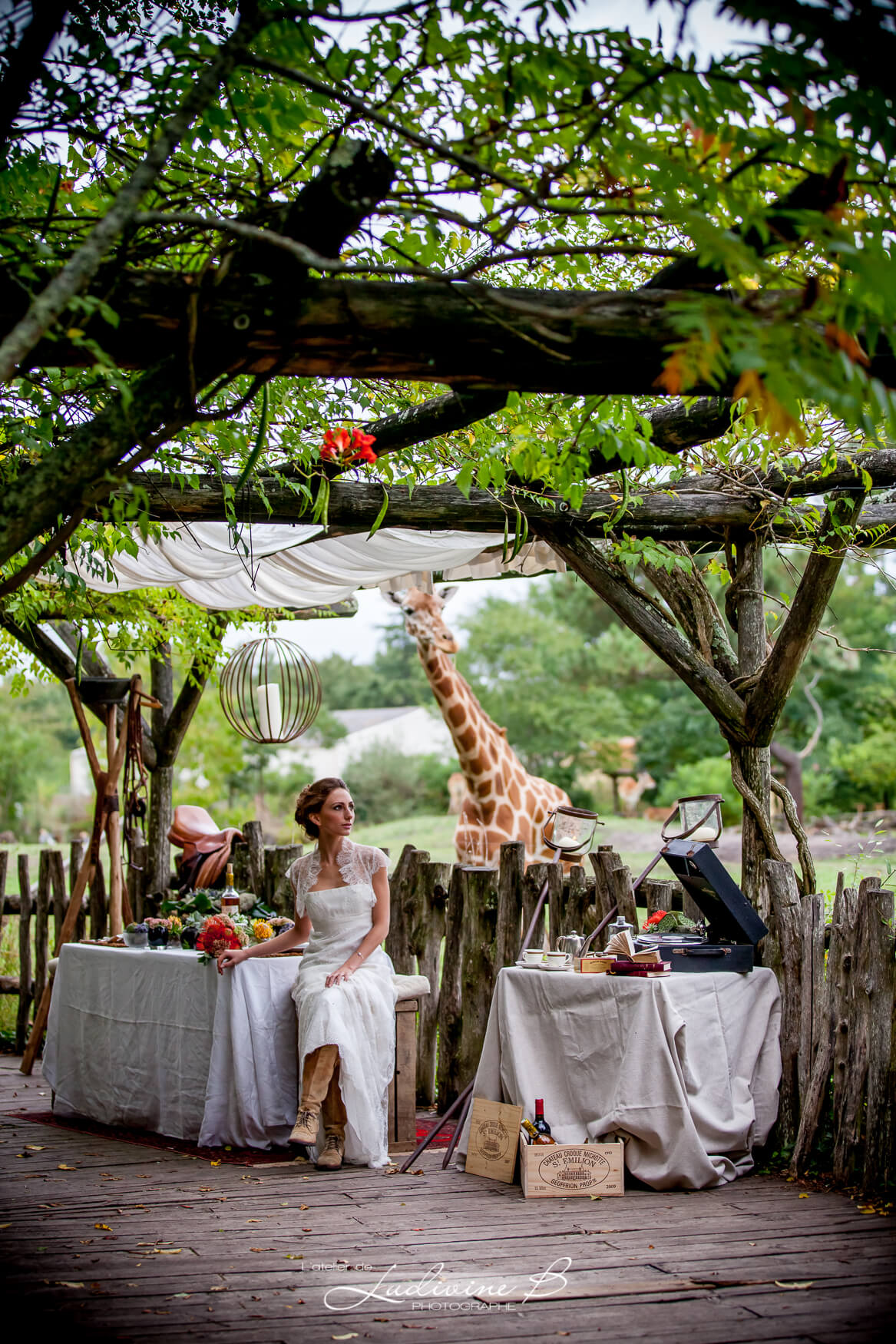 mariage out of Africa, inspiration africaine