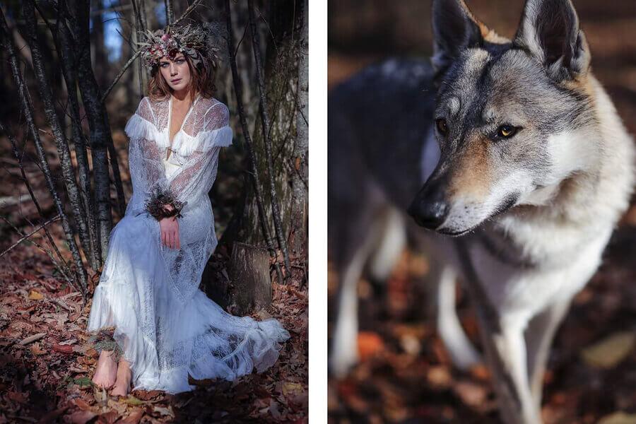 Robe de mariée sur mesure - Confidentiel création