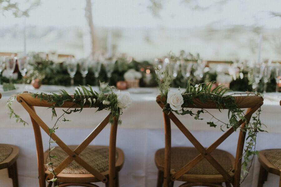 June blog parle d'un de nos mariages sur son blog - décoration de table de mariage 2