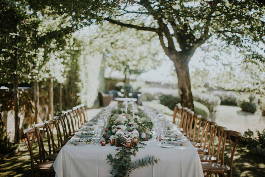 June blog parle d'un de nos mariages sur son blog - décoration de table de mariage