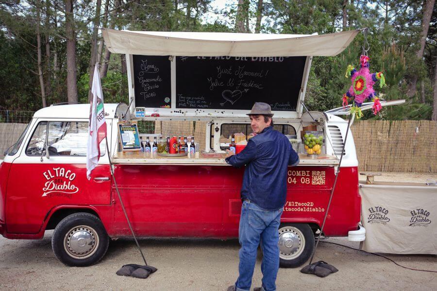 Foodtruck El Taco Del Diablo pour mariage