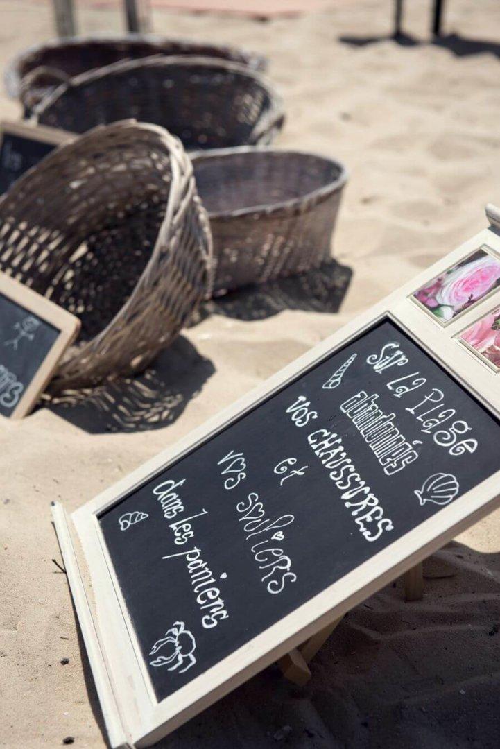Destination mariage à Bordeaux sur la plageby Weday's