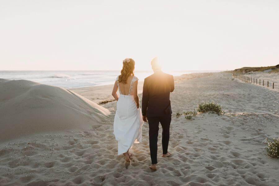 Queen for a day, une jolie publication de real Wedding à la cabane Bartherotte au Cap Ferret