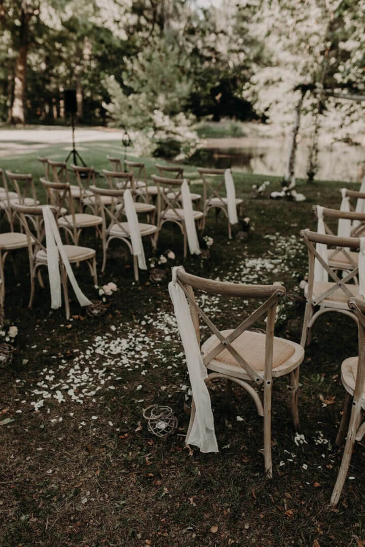 Les détails d'une cérémonie laïque by Weday's