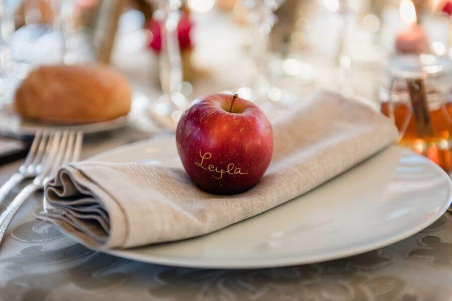 La présentation idéale de la serviette indispensable pour finir l'art de la table by Weday's