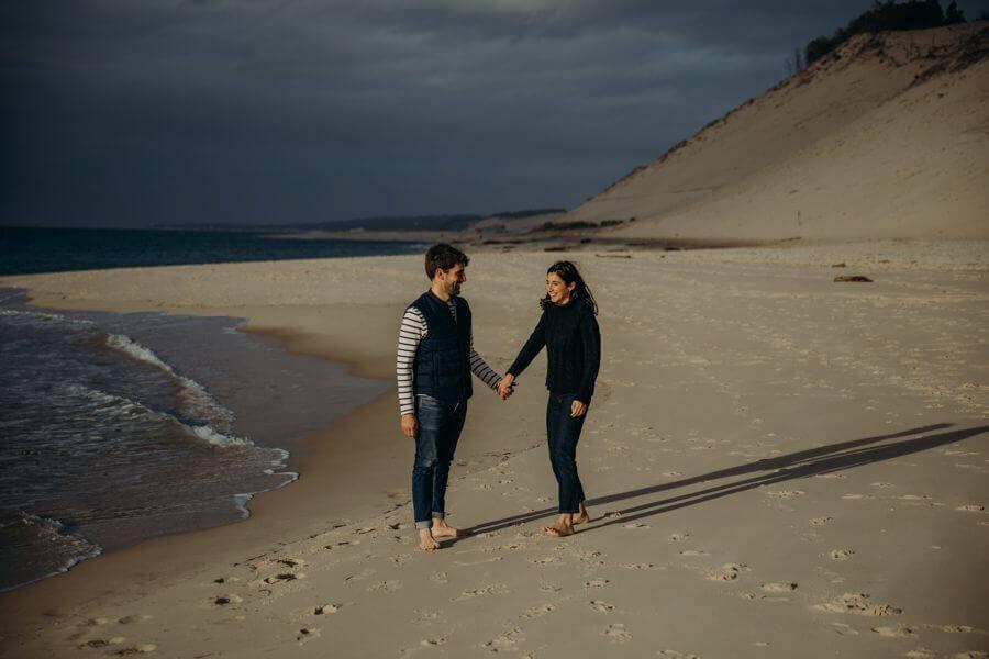 Séance d'engagement avec votre photographe, c'est un plus By Weday's