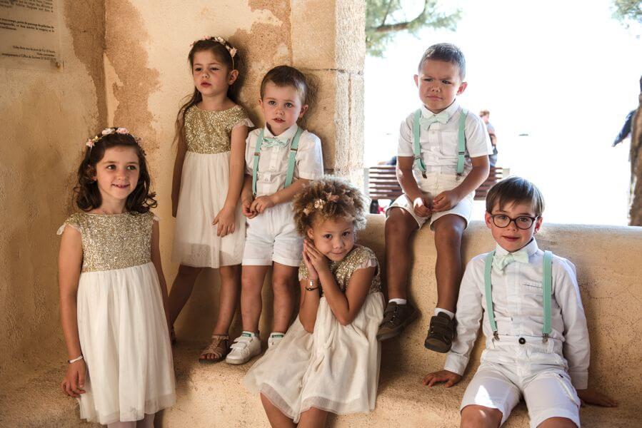Des animateurs et des Baby-sitters pour les enfants le jour de mariage By Weday's