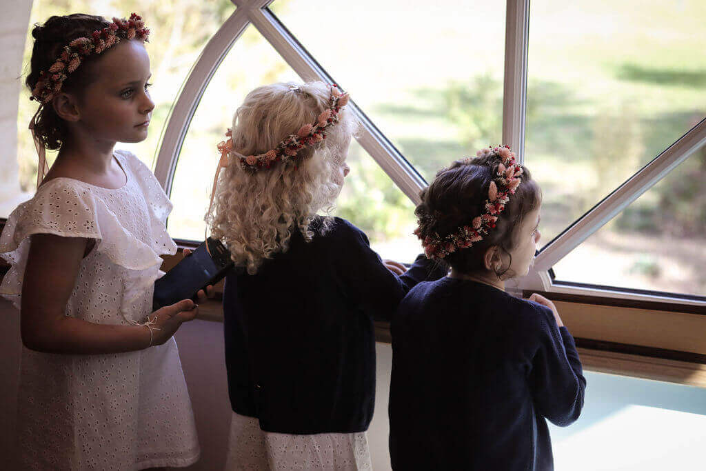 Les enfants à l'honneur de votre mariage en région Aquitaine by Weday's