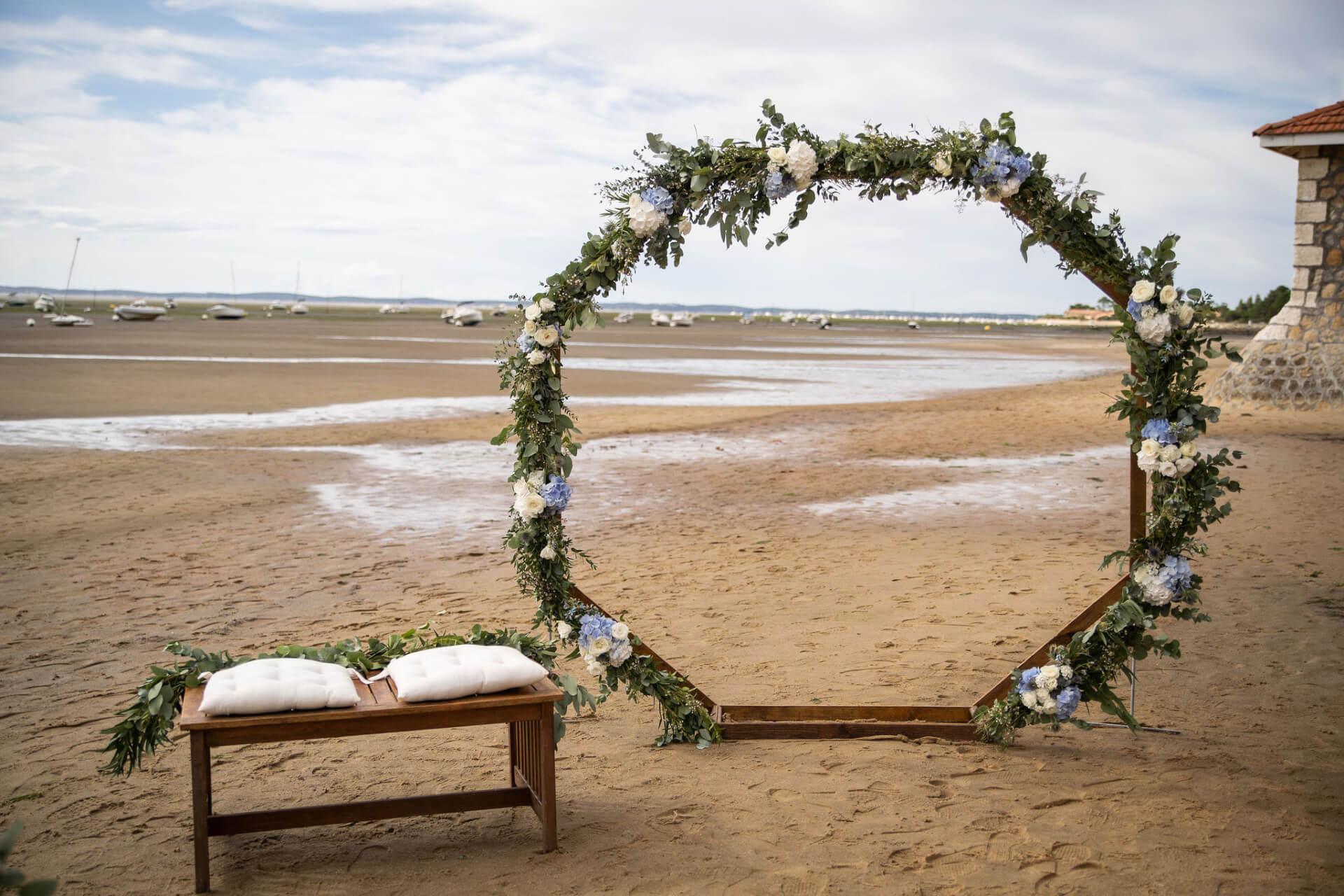 Pour vos livrets de cérémonie et votre arche de cérémonie et/ou le décor entier de votre cérémonie, ne cherchez plus